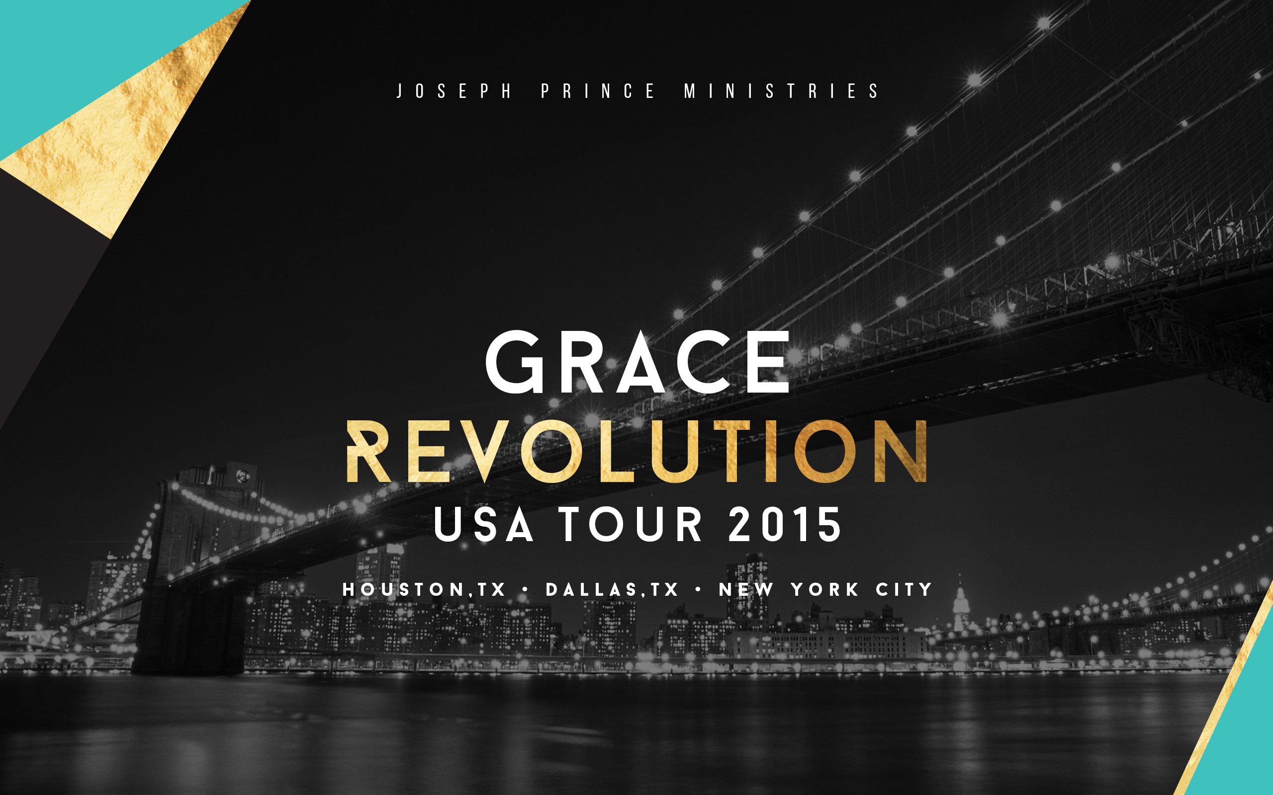 Grace Revolution Tour 2015 Banner
